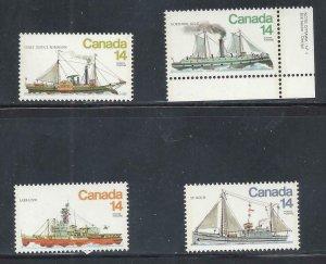 Canada MNH 776-9 Ships