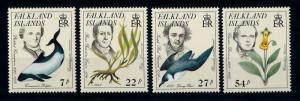 [71897] Falkland Islands 1985 Dolphin Bird Flower Darwin  MNH