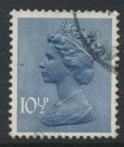 GB Machin 10½p  SG X891  Scott MH73 Used  please read details