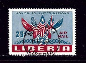 Liberia C70 Used 1952 issue