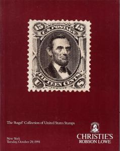 The 'Angel' Collection of United States Stamps, Christie'...