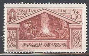 Italy 1930 Virgil Bimillenary Birth set Sc# 248-56 mint