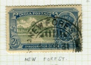 INDIA; POSTMARK fine used cancel on GV issue, New Forest