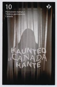Canada 2753a Booklet MNH Haunted Canada, Ship, Train, Fort George