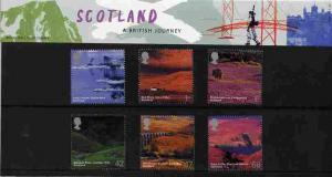 Great Britain 2003 A British Journey - Scotland set of 6 ...
