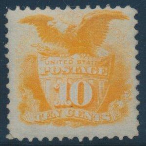 #116 10c 1869 VF UNUSED (RG) CV $750 BV745