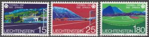 Liechtenstein #737-9  MNH   (S5880)