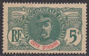 Ivory Coast 24 MNG CV $4.00