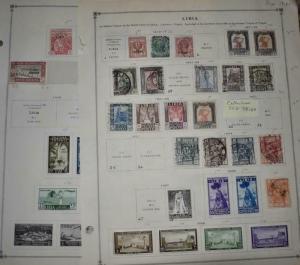 LIBYA COLLECTION 1850 - 1920  DR SCHULTZ ALBUM ESTATE Z888