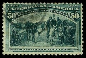 U.S. COLUMBIAN ISSUE 240  Used (ID # 63898)