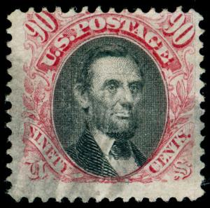 MOMEN: US STAMPS #122 USED PICTORIAL