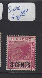 MALAYA  SUNGEI UJONG  (P0507B)  TIGER 3C/2C      SG 55    VFU