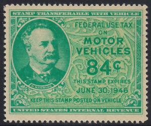 RV52 Motor Vehicle Mint VF LH