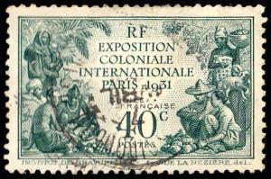 French Guiana Scott 116 Used.