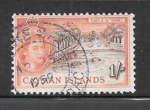 Cayman Islands #145 Used Single