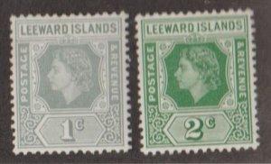 Leeward Islands Scott #134-135 Stamps - Mint Set