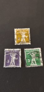 Switzerland #149-152 Used