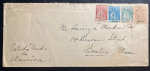 1930s Luanda Portuguese Angola Cover To Boston MA USA