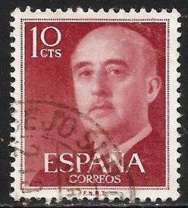Spain 1954 Scott# 815 Used
