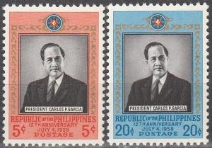 Philippine Is #644-5 MNH F-VF (SU4269)