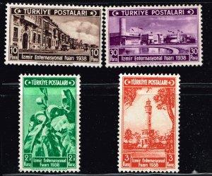 Turkey Stamp 1938 Izmir International Fair MH/OG STAMPS