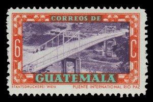 GUATEMALA STAMP 1950. SCOTT # 334. UNUSED.