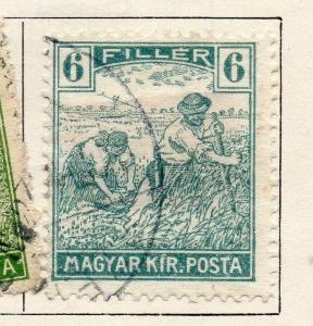 Hungary 1916 Early Issue Fine Used 6f. 098508