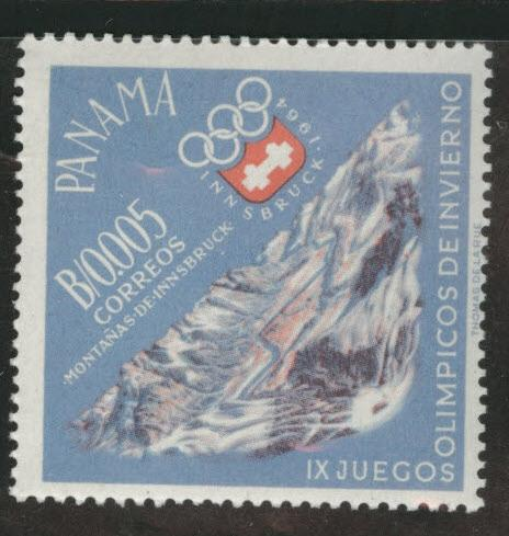 Panama  Scott 447 MNH** 1963 Insbruck Olympic stamp