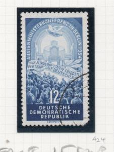 East Germany Peace Issue 1954 Early Fine Used 12pf. 222095