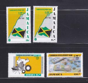 Jamaica 832-835 Set MNH Caribbean Development Bank (A)