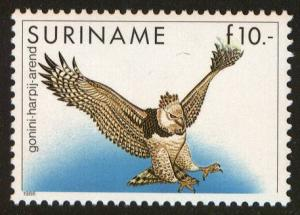 Surinam, Scott 729, MNH, beautiful Harpy Eagle stamp