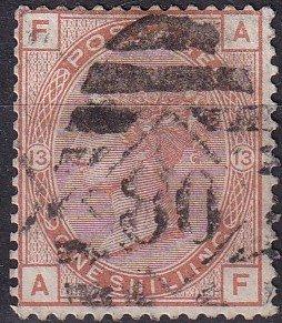 Great Britain #65 VF Used  CV $700.00 (Z9105)