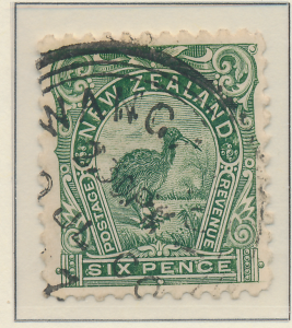 New Zealand Stamp Scott #92, Used, Good Centering For Issue - Free U.S. Shipp...