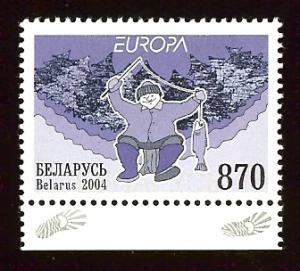 Belarus 523 870r Europa Cept 2004 MNH