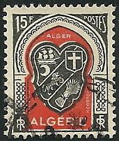Algeria - 225  - Used  - SCV-0.25