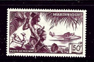 Martinique C10 MH 1947 issue