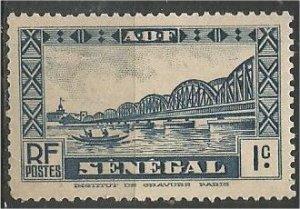 SENEGAL, 1935, MH 1c  Bridge Scott 142