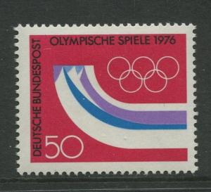Germany -Scott 1204 - General Issue-1976 - MNH - Single 50pf Stamp