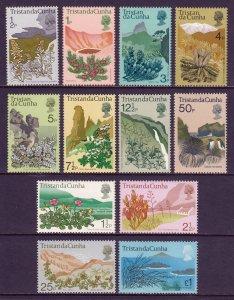 Tristan da Cunha - Scott #162-173 - MLH - Some very lt. gum toning - SCV $27