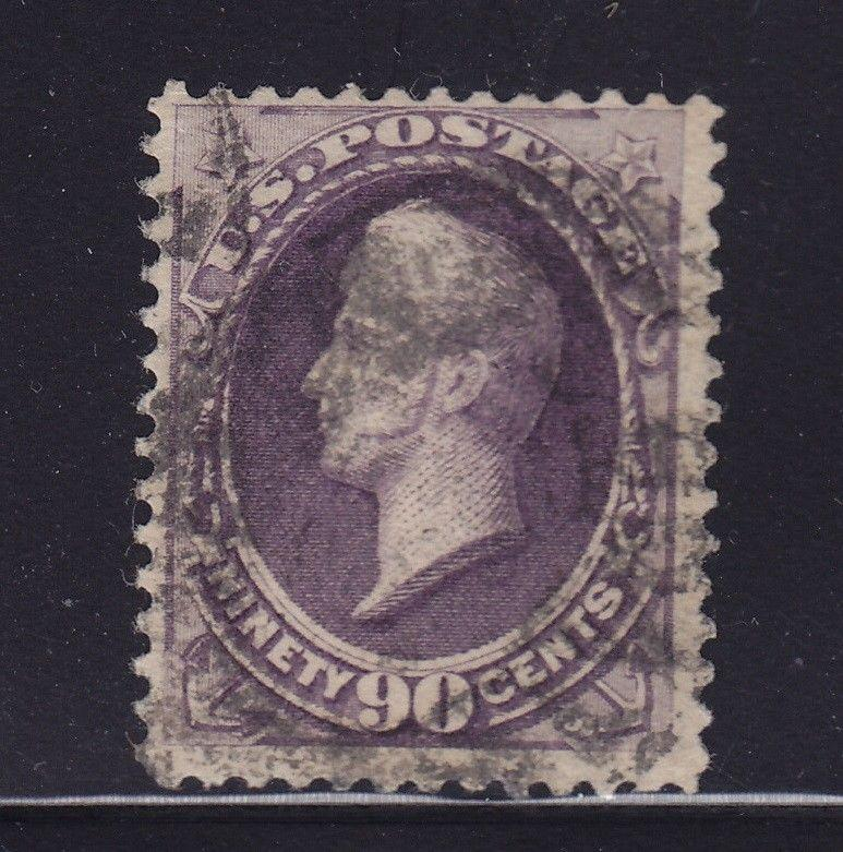 218 F-VF used neat cancel with rich color cv $ 250 ! see pic !