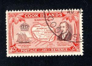 Cook Islands, Scott 133, VF, Used, CV $3.00   ..... 1500086
