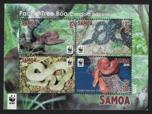 Samoa WWF Pacific Tree Boa Candoia bibroni Snake Endangered Species MS SG#MS1329