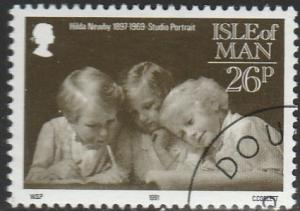 Isle Of Man, #442 Used From 1991
