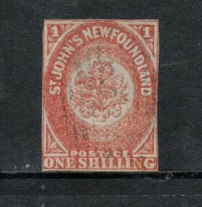 Newfoundland #15 Used Fine With Light Cancel *With Certificate*