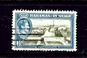 Bahamas 107 Used 1938 Fort Charlotte