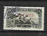 ALAOUITES, 26, USED, STAMPS OF SYRIA 1925 OVPTD