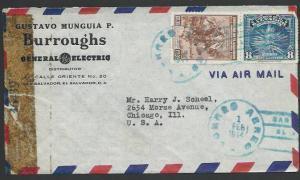 SALVADOR 1944 censor cover to USA..........................................27432
