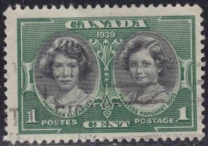 Canada Sc# 246 Hinged Used