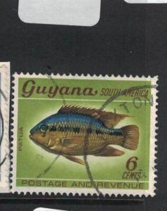 Guyana Fish Buxton Town Cancel VFU (6dua)