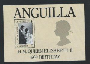 Anguilla  souvenir sheet   mnh sc  677
